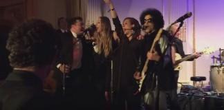 Prince em festa do Saturday Night Live