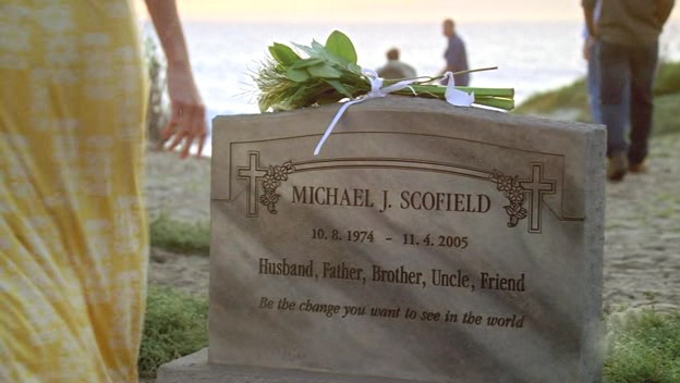 Prison Break e a lápide de Michael Scofield