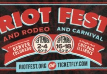Riot Fest 2016 em Denver e Chicago