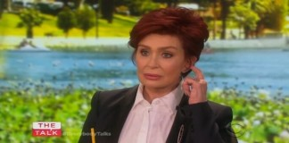 Sharon Osbourne no The Talk