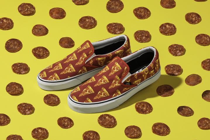 VANS lança tênis com estampa de pizza