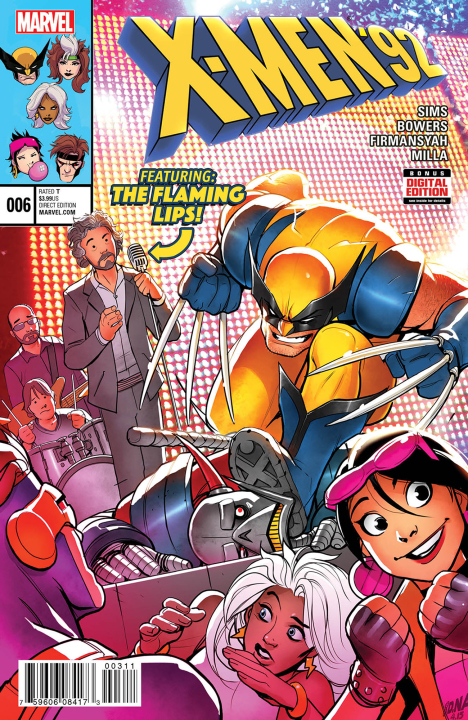 X-Men e The Flaming Lips