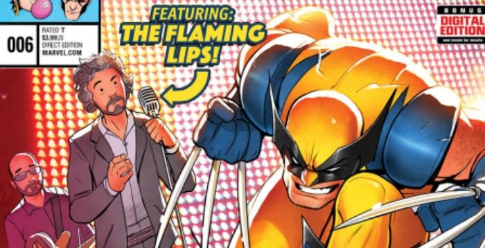 The Flaming Lips e X-Men