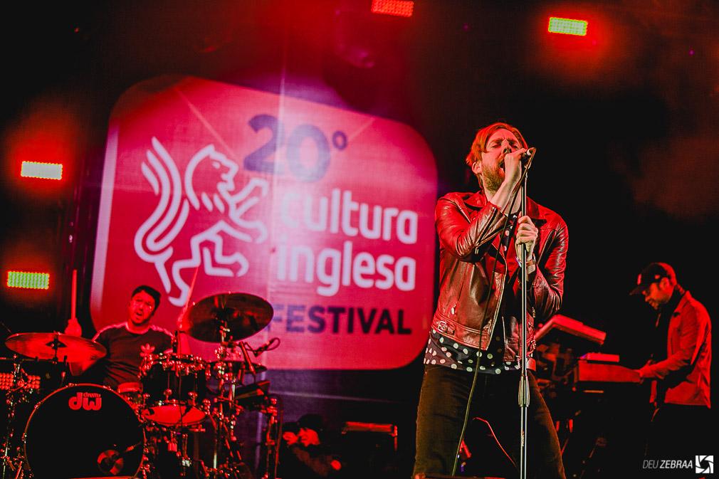 Kaiser Chiefs no Cultura Inglesa Festival