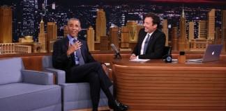 Barack Obama no programa de Jimmy Fallon