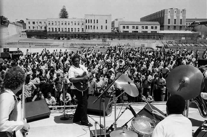 B. B. King em San Quentin