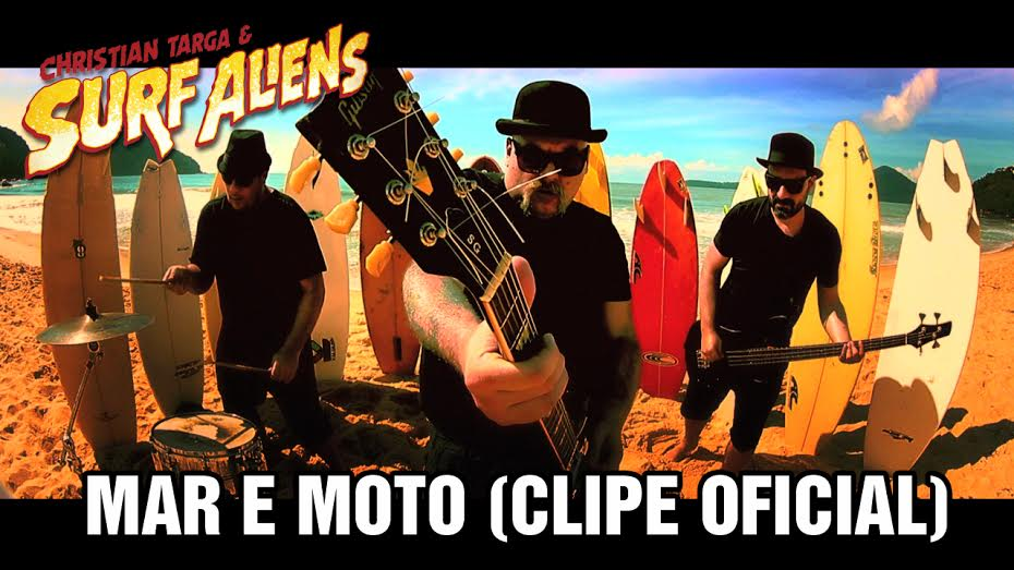 Christian Targa & Surf Aliens - Mar e Moto