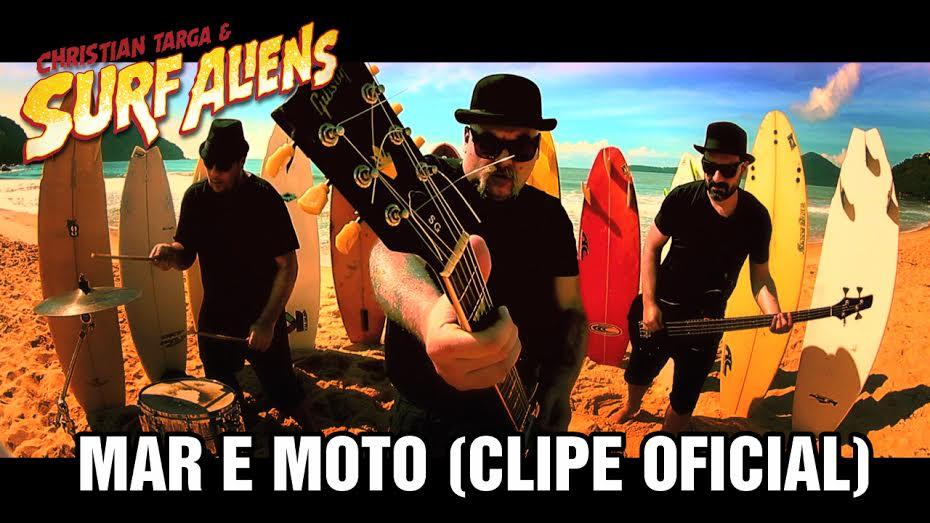 Christian Targa & Surf Aliens - Mar e Moto