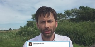 """o ator david tennant leu alguns comentários """"carinhosos"""" dos escoceses ao candidato donald trump"""
