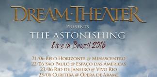 Dream Theater desembarca no Brasil para turnê grandiosa