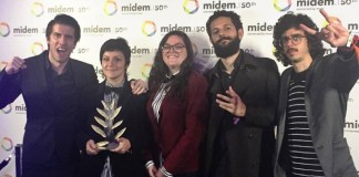 Far From Alaska recebe prêmio no Midem, na França