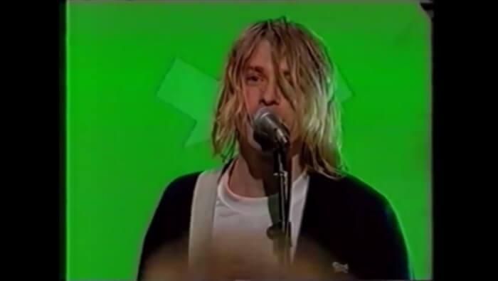 Nirvana no programa The Word
