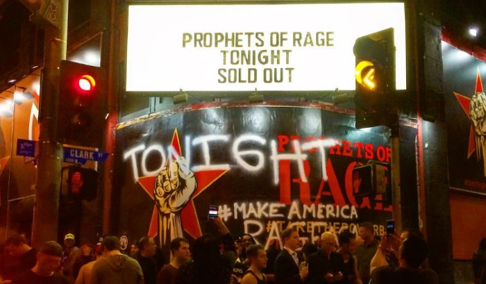 Primeiro show do Prophets Of Rage