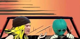 Tom DeLonge cantando as novas do Blink-182