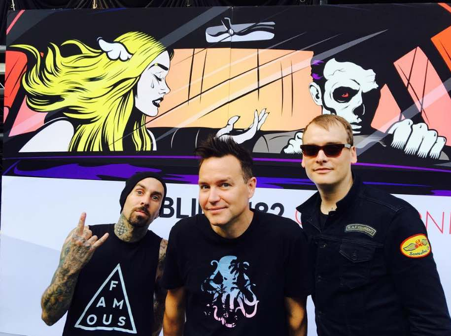 Blink-182 - Mark, Travis e Matt