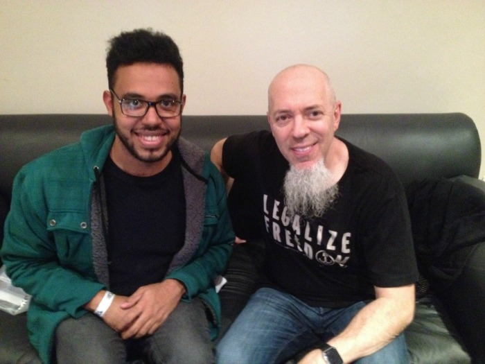Jordan Rudess Dream Theater Edu Nogueira TMDQA