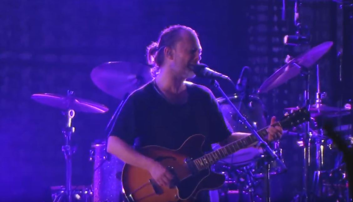 Radiohead no Lollapalooza 2016