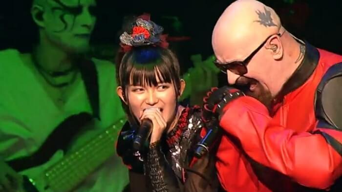 Babymetal toca Judas Priest com Rob Halford