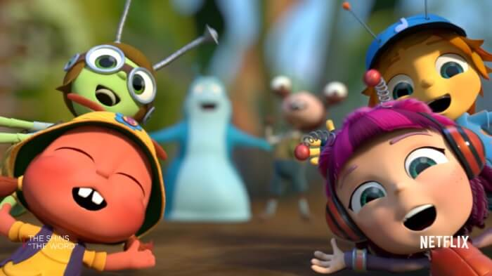 Beat Bugs, da Netflix