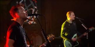 Blink-182 no programa de Stephen Colbert