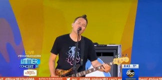 Blink-182 no Good Morning America