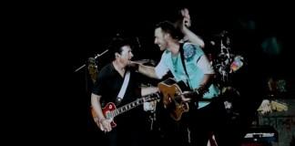 Coldplay toca De Volta Para o Futuro com Michael J. Fox