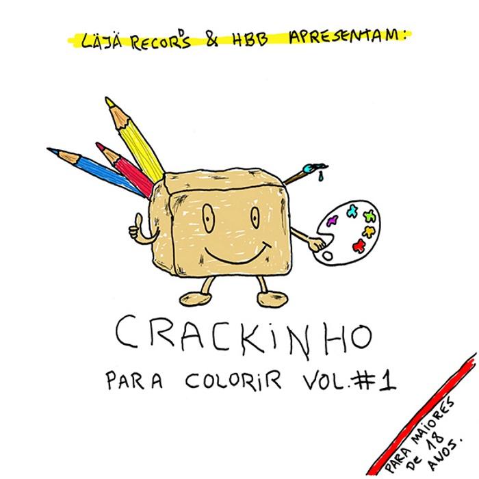 Livro para colorir do Crackinho
