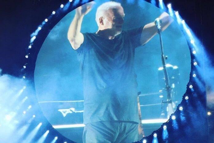 David Gilmour em Pompeia