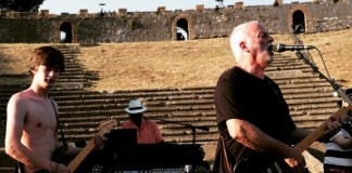 David Gilmour volta a Pompeia
