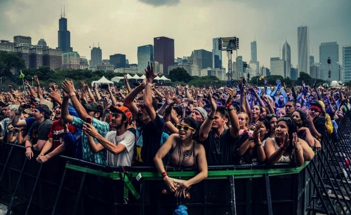 Festival em Chicago