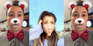 Jimmy Fallon e Ariana Grande em clipe no Snapchat