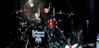 Joe Perry passa mal durante show do Hollywood Vampires