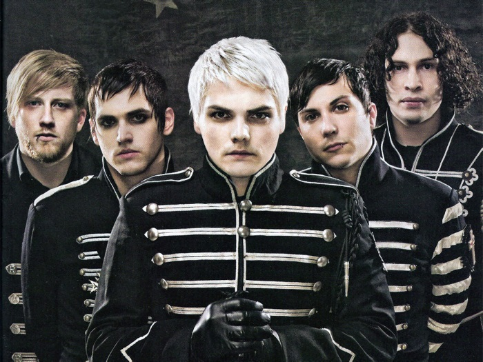 My Chemical Romance na época de The Black Parade