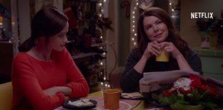 Rory e Lorelai Gilmore em vídeo de Gilmore Girls: Um Ano Para Recordar