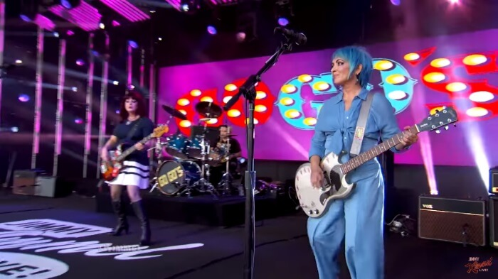 The Go Go's no programa de Jimmy Kimmel