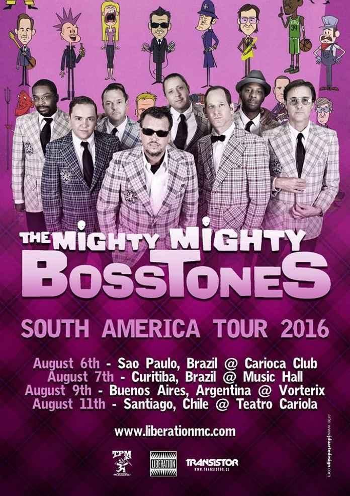 The Mighty Mighty Bosstones vêm ao Brasil em Agosto