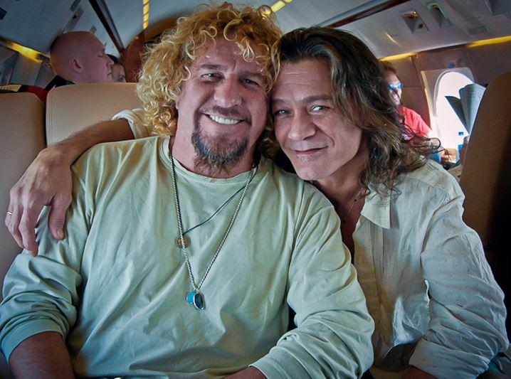 Van Halen e Sammy Hagar