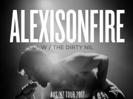 Alexisonfire poster turne 2017