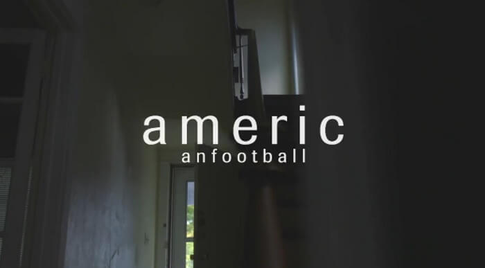 Teaser em vídeo do American Football
