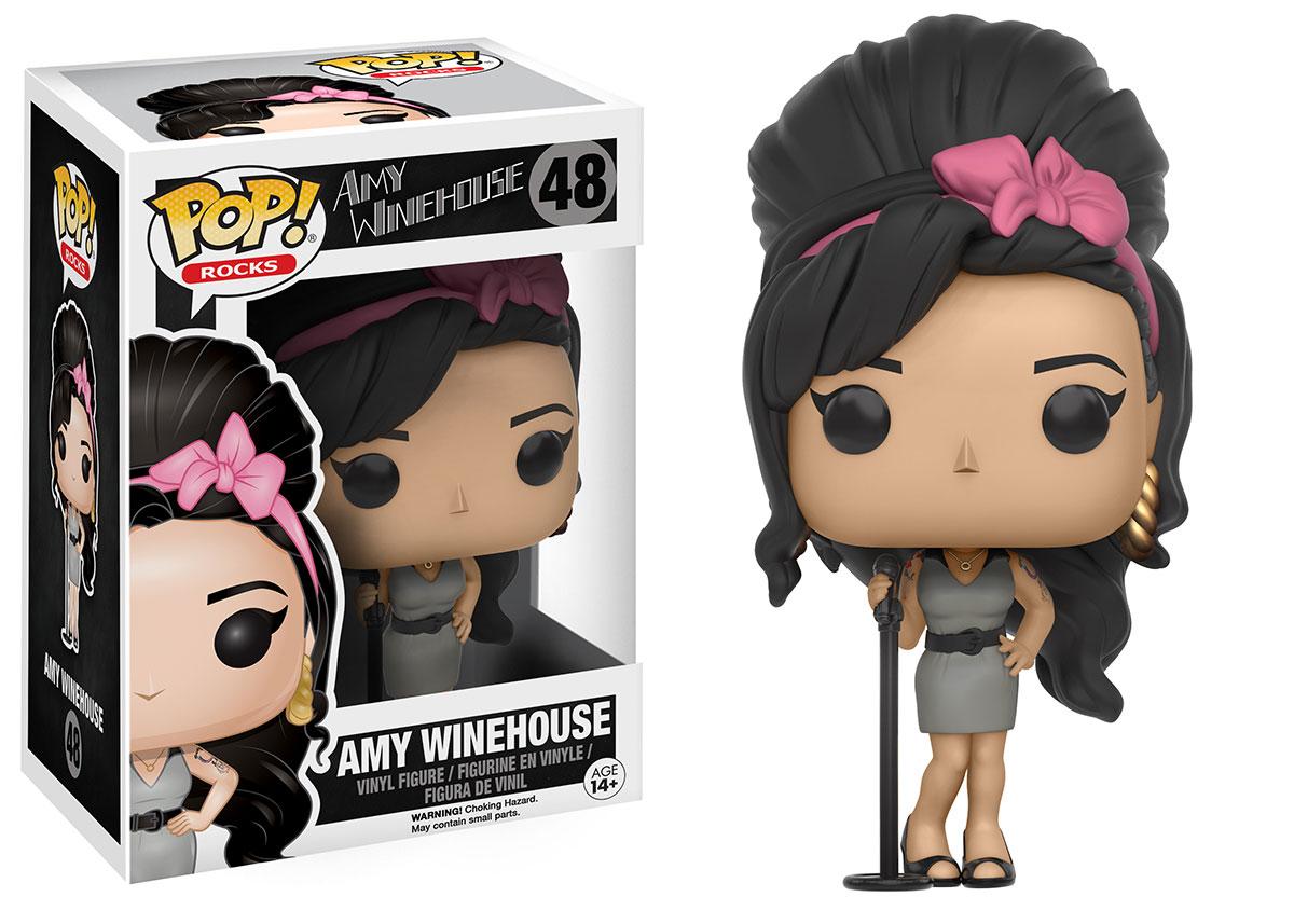 Amy Winehouse em versão de boneca Funko