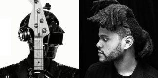 Daft Punk e The Weeknd estiveram juntos em estúdio