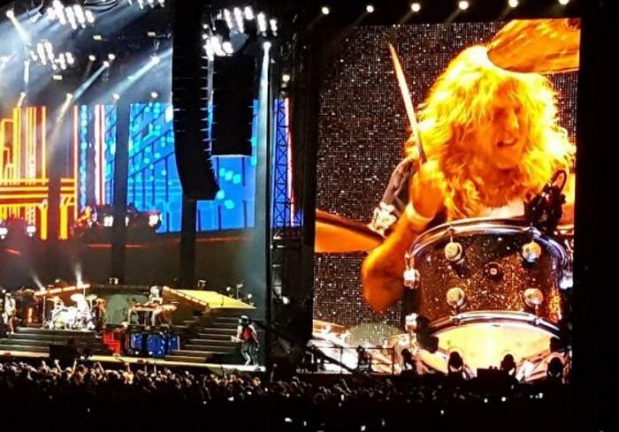 Guns N' Roses com Steven Adler