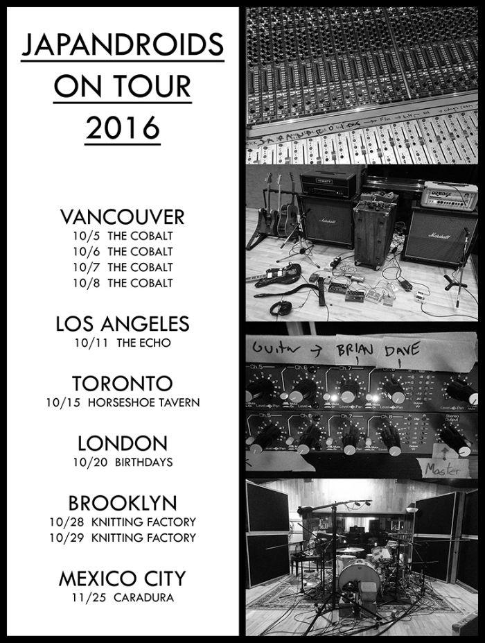 Japandroids anunci turnê após três anos fora dos palcos