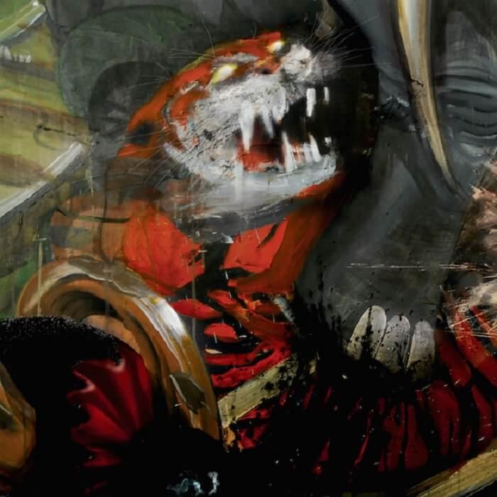 Capa de Jessica Rabbit, novo disco do Sleigh Bells