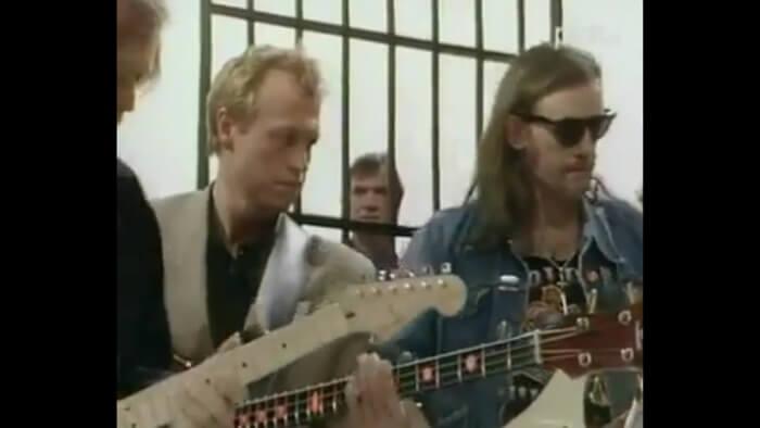 Lemmy, Mark Knopfler e David Gilmour tocam juntos