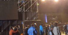 Show do Megadeth no Paraguai termina em chuva de garrafas de vidro
