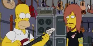 Homer Simpson toca Meshuggah