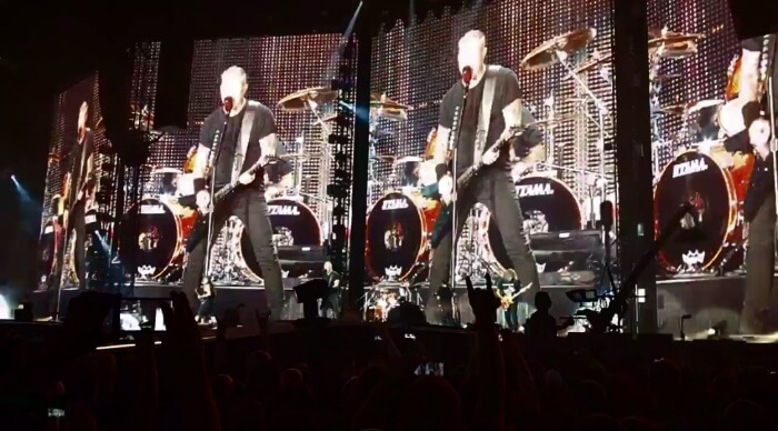 Metallica toca Hardwired pela primeira vez
