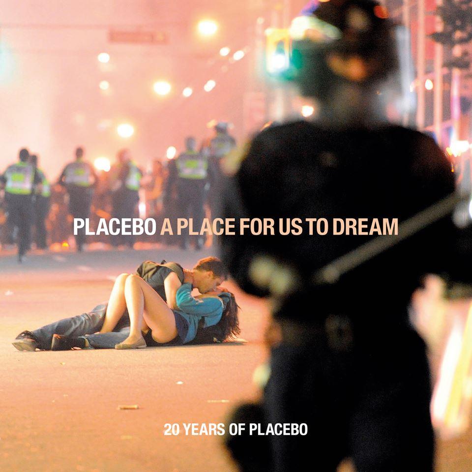 """capa da coletânea """"a place for us to dream"""" do placebo"""