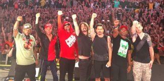 Prophets Of Rage toca MC5 com Dave Grohl em Toronto
